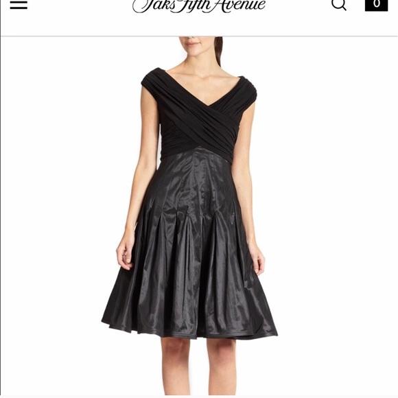 af9cf5fd93 Tadashi Shoji high low black dress 12 flattering!